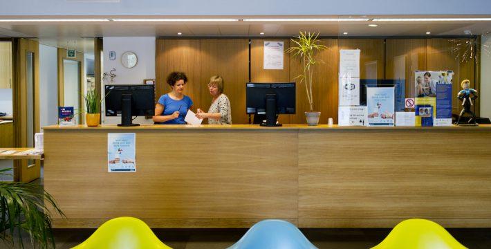 Onthaal Wijgezondheidscentrum Brugse Poort Gent