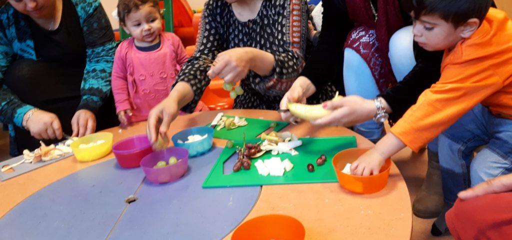 Ratatouille is een praat- en kookgroep over voeding en opvoeding voor ouders met kinderen tot 8 jaar.